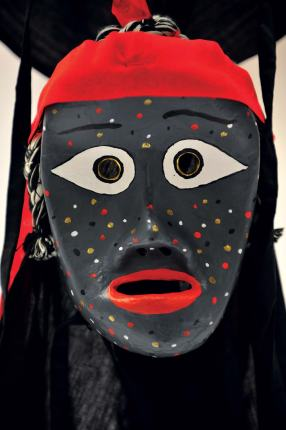 A TRADITIONAL KOREAN MASK