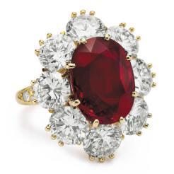 Van Cleef and Arpels ruby ring