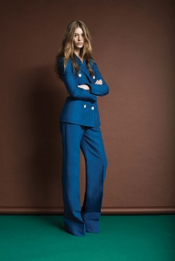A look from the Louis Vuitton 2014 Cruise Collection designed by Julie de Libran