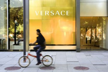 Versace' Beijing store