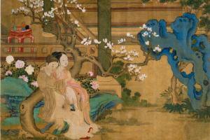 Gardens of Pleasure, Love Games in a Flowering Garden