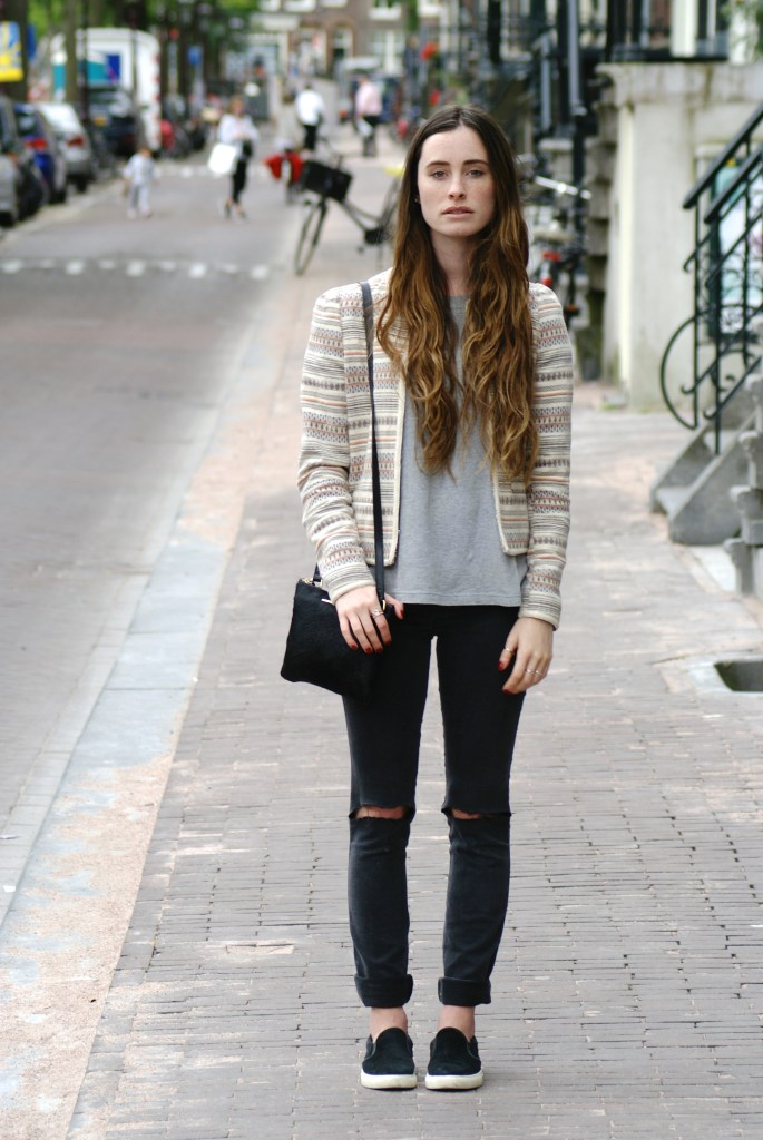 Ripped Jeans in Amsterdam