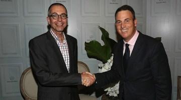 Horst von Sanden, CEO, Mercedes-Benz Australia/Pacific and Christopher Gilbert, Senior Vice President, Managing Director - IMG Australia & New Zealand
