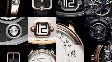 "CHANEL INTRODUCES ITS NEW WATCH ""MONSIEUR DE CHANEL"""