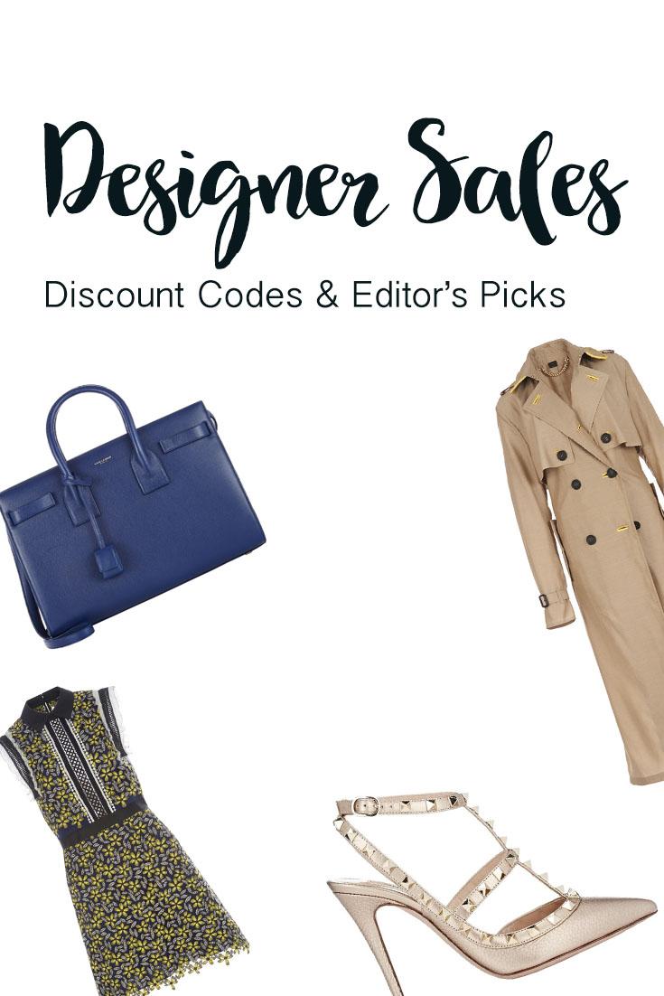 Barneys New York, Moda Operandi, and Shopbob sales and discount codes