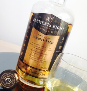 Elements Eight Vendome Gold Rum Review by the fat rum pirate