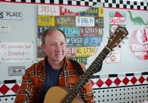John Lilly at Mary's Diner in Geneva, Ohio.