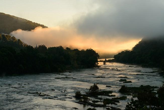Shenandoah River, Harpers Ferry, WV