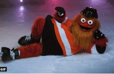 Why The Philadelphia Flyers' New Mascot Perfectly Embodies Sports Fans
