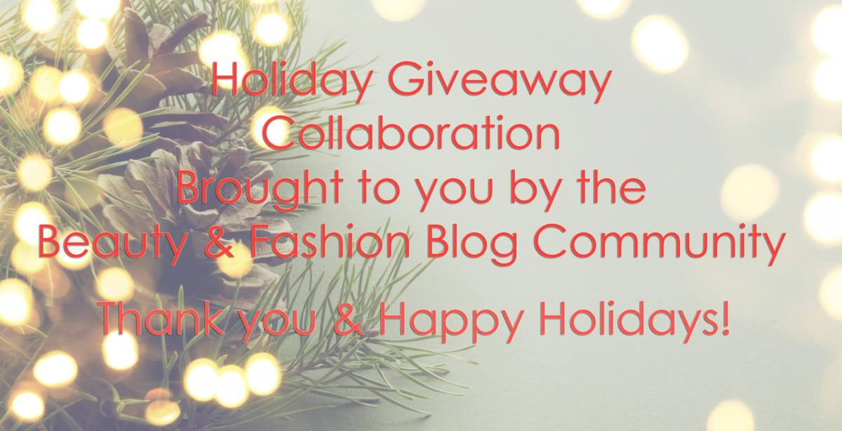 Holiday Giveaway Collaboration!