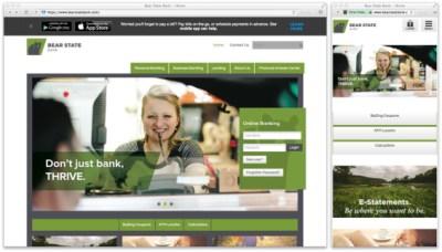 25 Inspirational & Responsive Banking Website Designs