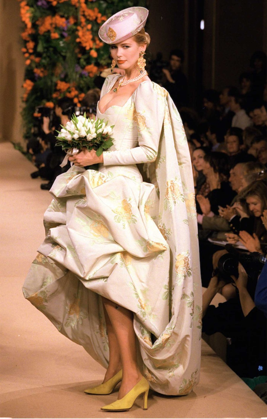 The finest magazine pierre berge the man behind yves for Yves saint laurent wedding dress