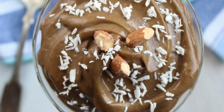 Healthy Chocolate Avocado Pudding