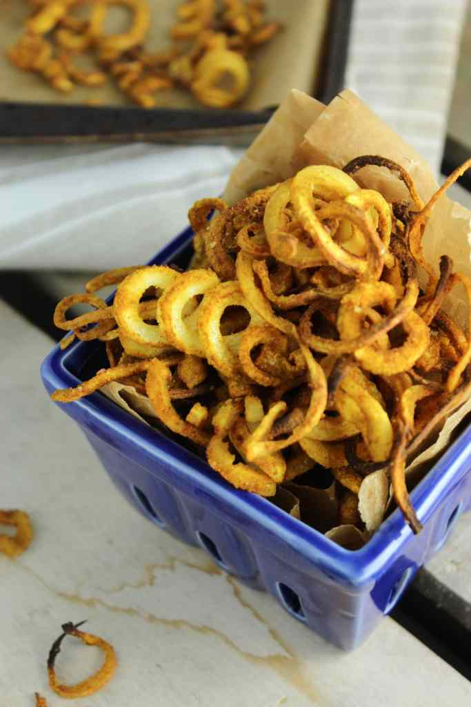 Indian Spiced Parsnip Curly Fries – The Fitchen