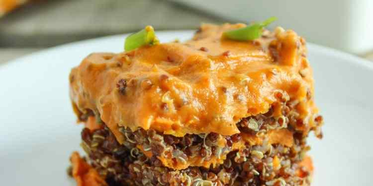 Spicy Vegan Sweet Potato Casserole