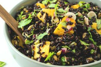 Mango Black Rice Salad