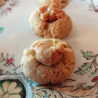 Honey Almond Thumbprint Cookies