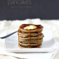 Hemp Protein Pancakes (Gluten-free & Vegan)