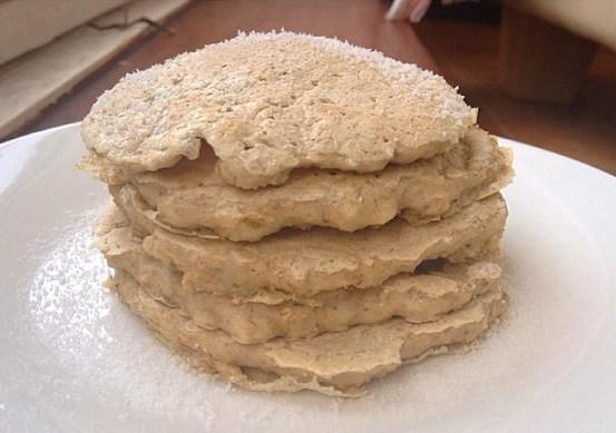 Pancakes avoine / oat pancakes