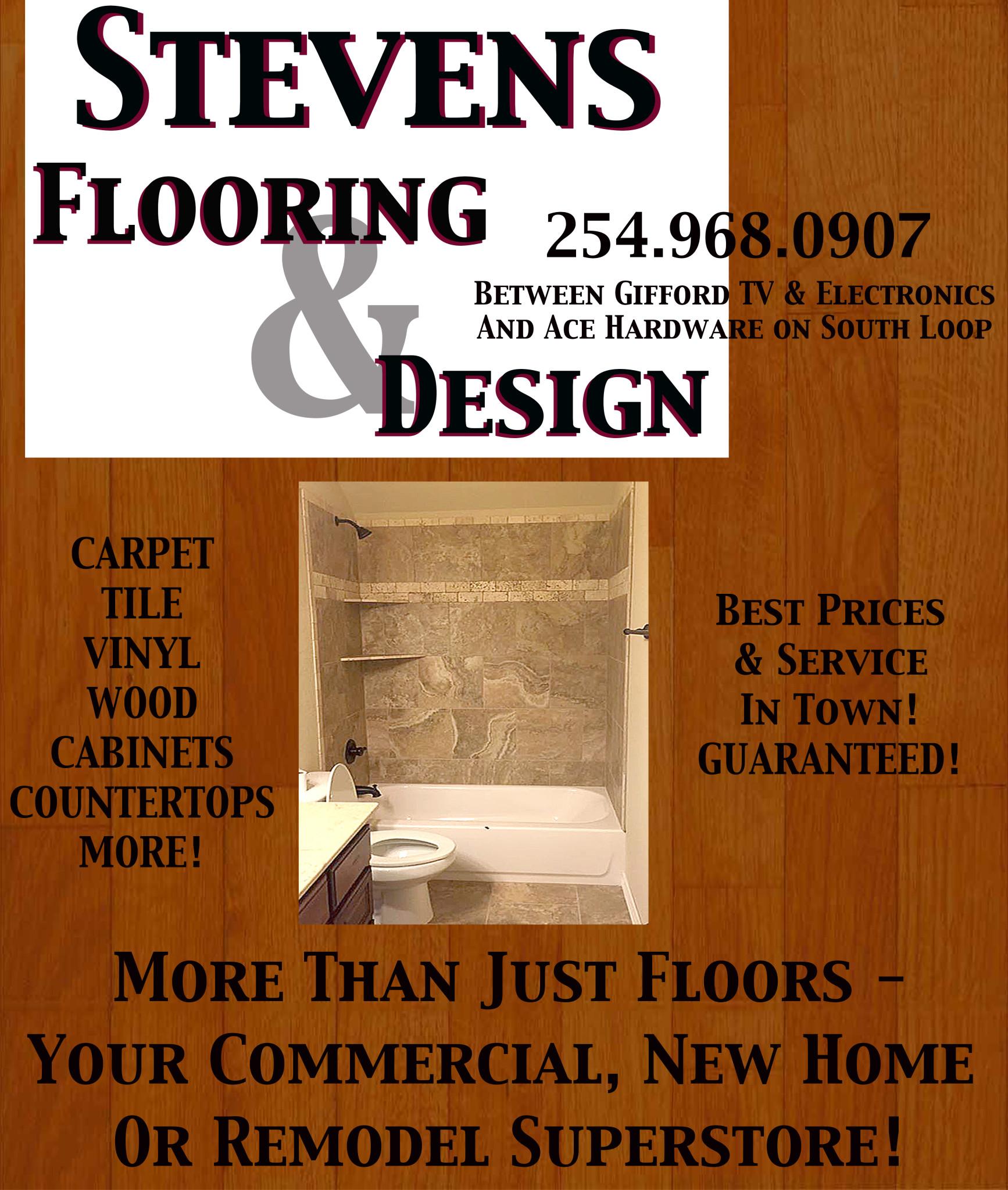 Stevens Flooring & Design 012216