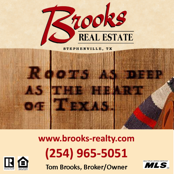 Brooks Real Estate Box Ad 0503