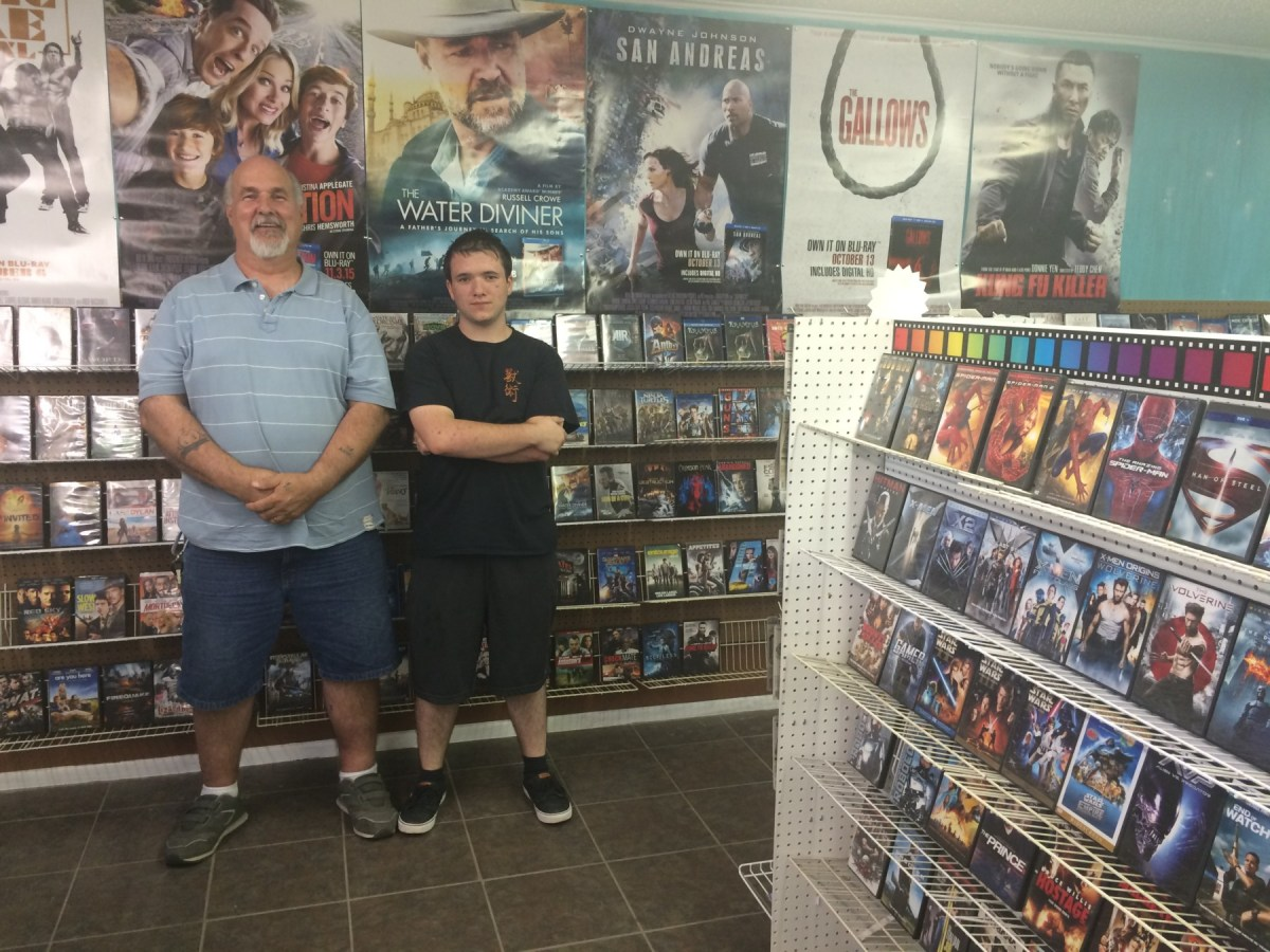 Mom and pop video rental shop is here to stay
