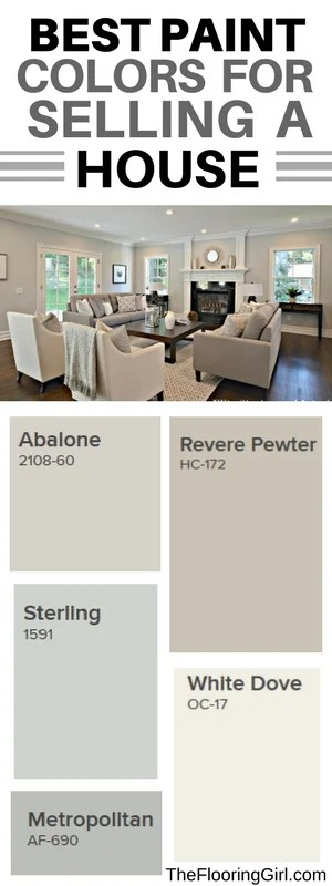 The Flooring Girl Best Paint Colors For Selling Your House