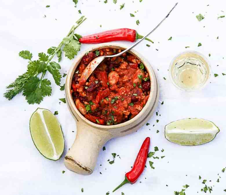Chicken Chilli with Tequila