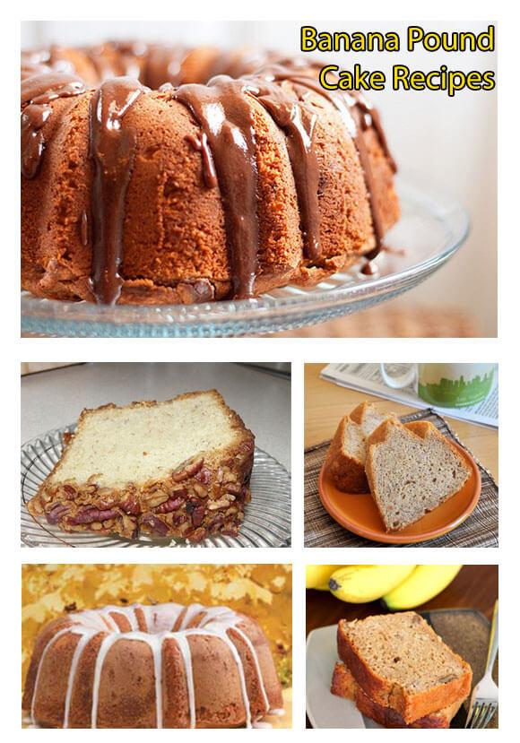 12 delicious banana pound cake recipes