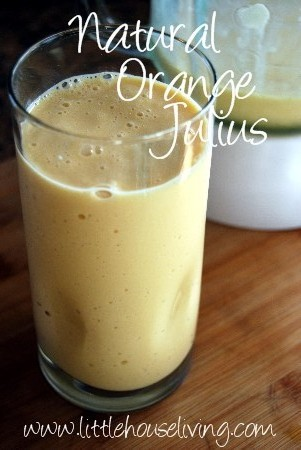 Natural Orange Julius Recipe picture little house living