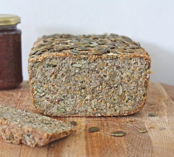 Almond, Quinoa & Pumpkin Seed Bread recipe photo