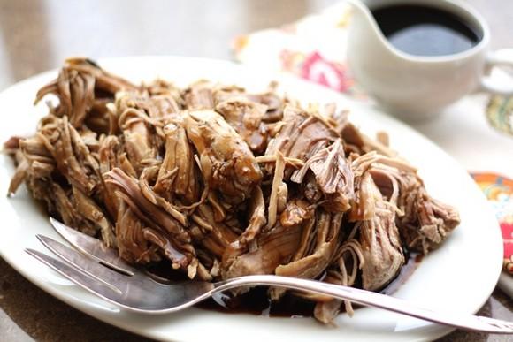 Crock-Pot Brown Sugar and Balsamic Pork Roast recipe photo