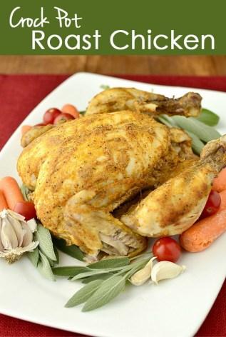 Crock Pot Roast Chicken recipe photo