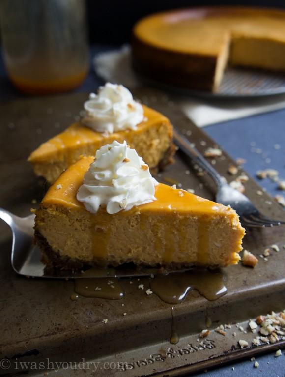Pumpkin Cheesecake recipe photo