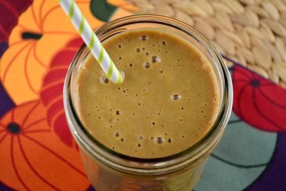 Pumpkin Spice Latte Smoothie recipe photo