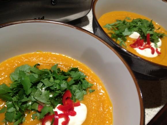 Thai Pumpkin Soup recipe photo