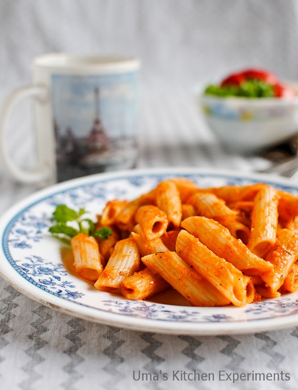 Red Bell Pepper Pasta recipe photo