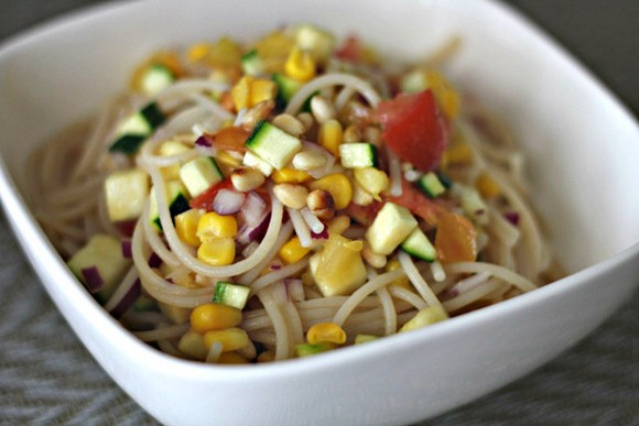 Summer Pasta Toss recipe photo