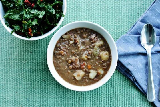 Easy Lentil Soup recipe photo