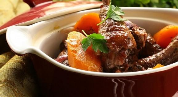 Crock Pot Coq au Vin recipe photo