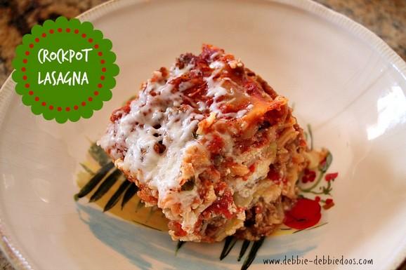 Crock Pot Lasagna recipe photo