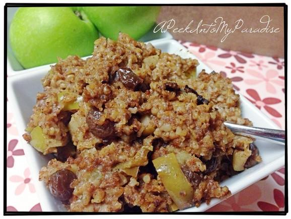 Crockpot Caramel Apple Pie Oatmeal recipe photo