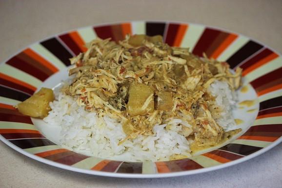 Crockpot Chicken Korma recipe photo