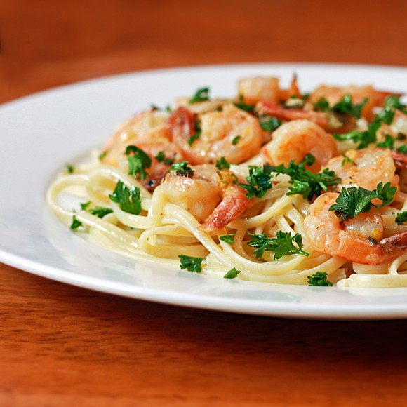 Lemon-Garlic Shrimp Scampi recipe photo