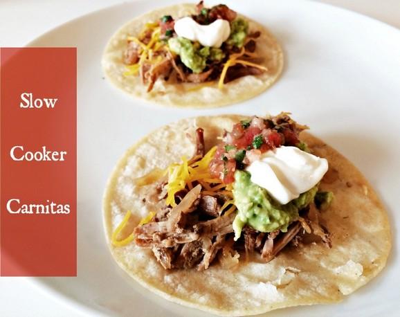 Slow Cooker Carnitas recipe photo