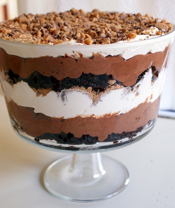Death by Chocolate Parfait recipe photo