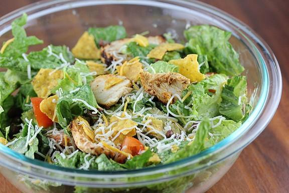 Grilled Chicken Taco Salad recipe