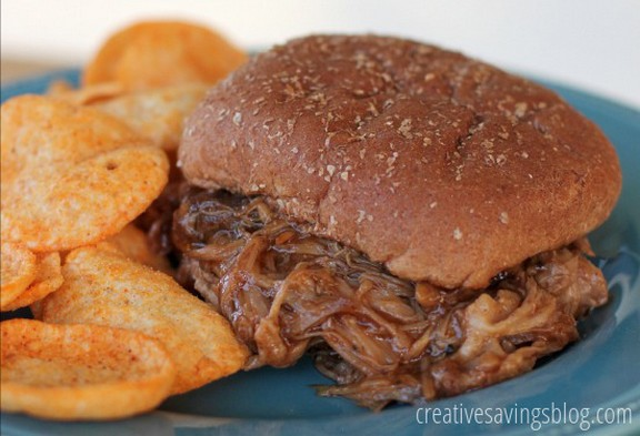 Slow-Cooker Pulled Pork Sandwiches recipe photo