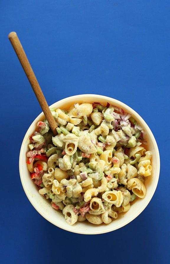 Vegan Macaroni Salad recipe