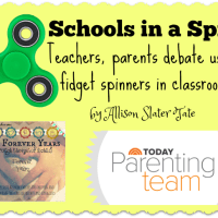 Schools in a Spin: Teachers, parents debate use of fidget spinners in classrooms, by Allison Slater Tate